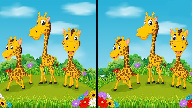 Spot it 3: Find the Difference - toddlers & kids APK screenshot 1