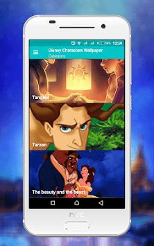 Disney Characters Wallpaper APK screenshot 1