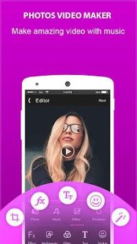 flipagram video maker + music APK screenshot 1