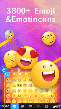 Emoji Keyboard APK screenshot 1
