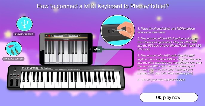 Piano Connect: MIDI Keyboard APK screenshot 1