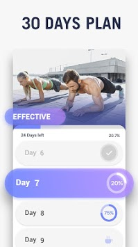 Plank Workout - 30 Days Plank Challenge Free APK screenshot 1