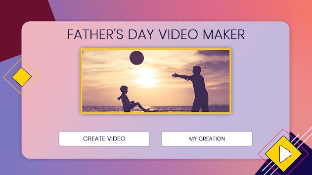Fathers Day Video Maker APK screenshot 1