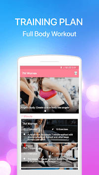 7 Minute Women Workout - Weight Loss Fitness APK screenshot 1