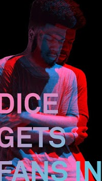 DICE: Tickets for Live Music Shows APK screenshot 1