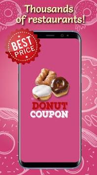 Donut Coupons APK screenshot 1