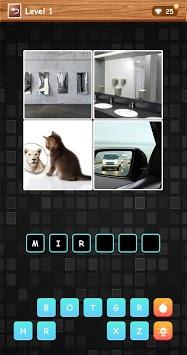 4 Pics 1 Word - Funny Puzzle Game APK screenshot 1