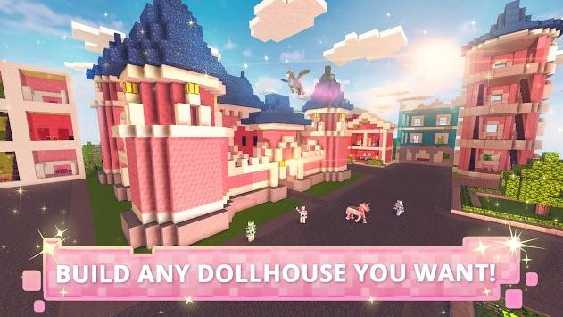 Dollhouse Builder Craft: Doll House Building Games APK screenshot 1