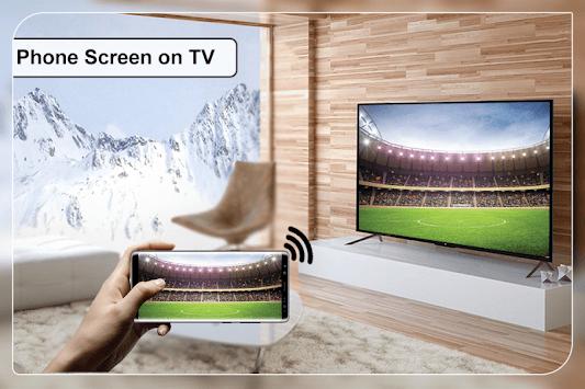 Cast To TV : Screen Mirroring For Smart TV APK screenshot 1