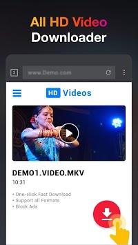 HD Video Downloader App - 2019 APK screenshot 1
