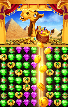 Pharaoh Castle Magic Jewels APK screenshot 1