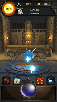 Idle Magic Clicker - A Wizard Tap Game (No IAP) APK screenshot 1