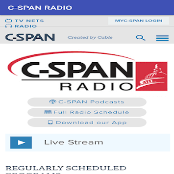 C-SPAN NEWS LIVE APK screenshot 1