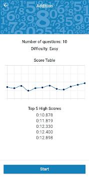 Math Workout - Math Games APK screenshot 1