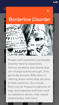 PD Test - Personality Disorders Test APK screenshot 1