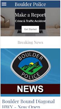 Boulder Police Department APK screenshot 1