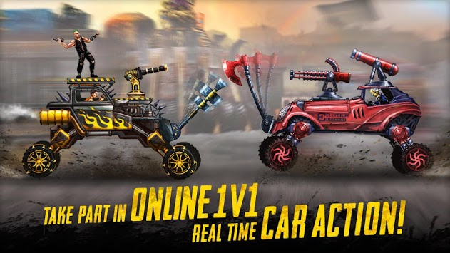 War Cars: Epic Blaze Zone APK screenshot 1