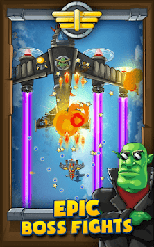 Panda Commander - Air Fighter : Airplane Shooting APK screenshot 1