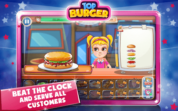 Burger Masterchef : Fast Food Shop : Cooking Crazy APK screenshot 1