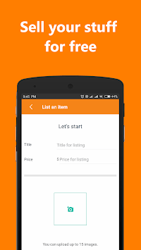 AllGoods - Sell free, buy local APK screenshot 1
