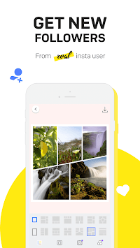 Booster to get followers easy - Layout for Likes APK screenshot 1