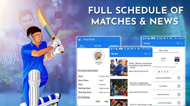 Crick Feed – Live Cricket score & Update APK screenshot 1