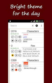MemoryAid: iNotebook, iDiary and iWriter 2019 Demo APK screenshot 1