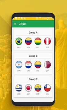 Live scores for the American Cup 2019 APK screenshot 1