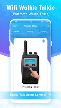 Wifi Walkie Talkie - Bluetooth Walkie Talkie APK screenshot 1