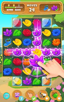 Flower Legends Match 3 APK screenshot 1