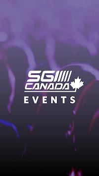 SGI CANADA Events APK screenshot 1