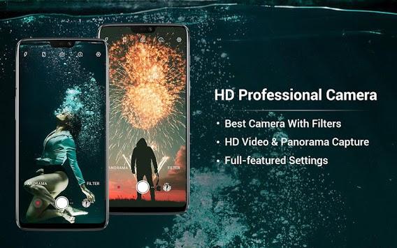 HD Camera - Video, Panorama, Filters, Beauty Cam APK screenshot 1
