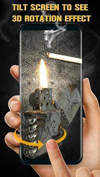 3D Virtual Lighter Simulator Live Wallpaper APK screenshot 1
