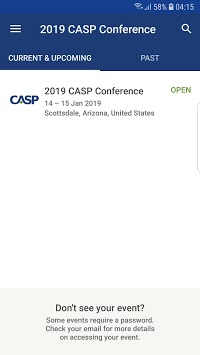 2019 CASP Conference APK screenshot 1