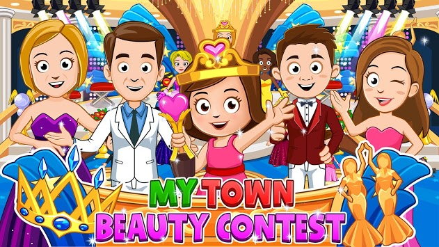 My Town : Beauty Contest - FREE APK screenshot 1