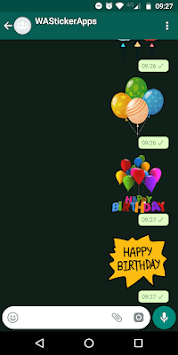 🎈🎂 WAStickerApps Happy Birthday APK screenshot 1