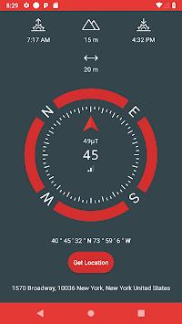 Just a Compass (Free & No Ads) APK screenshot 1