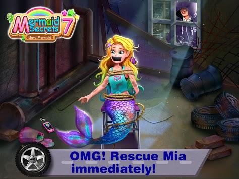 Mermaid Secrets 7– Save Mermaids Mia APK screenshot 1