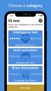 The Ultimate IQ Test - How intelligent are you? APK screenshot 1