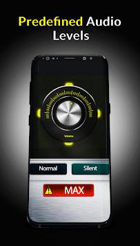Speaker Booster Equalizer Plus Pro-4x Super Loud APK screenshot 1