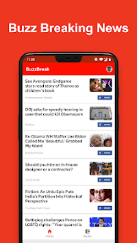 BuzzBreak News - Buzz News & Earn Free Cash! APK screenshot 1