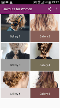 Haircuts for Women APK screenshot 1