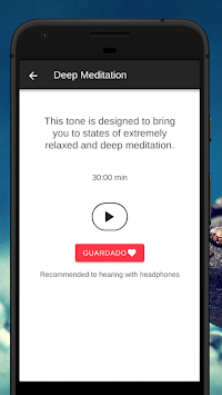 Isochronic Tones - Relaxing, Meditation, Health APK screenshot 1