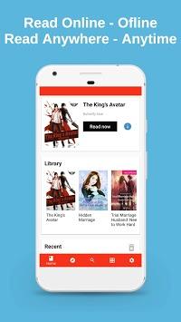 NovelReader - Read Novel Offline & Online APK screenshot 1