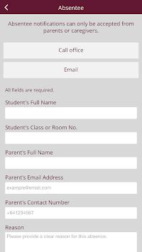 Cashmere High School APK screenshot 1