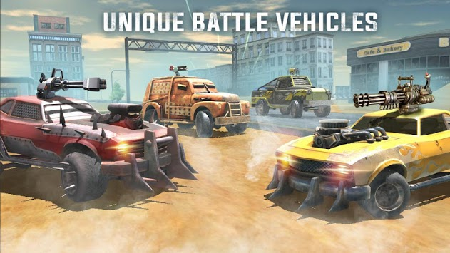 Death Race Road Battle APK screenshot 1