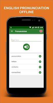 Pronunciation APK screenshot 1