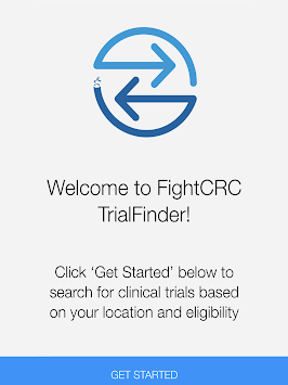 Fight CRC Late-Stage MSS CRC Trial Finder APK screenshot 1