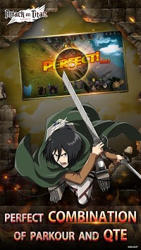 Attack on Titan: Assault APK screenshot 1