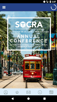 SOCRA Annual Conference APK screenshot 1
